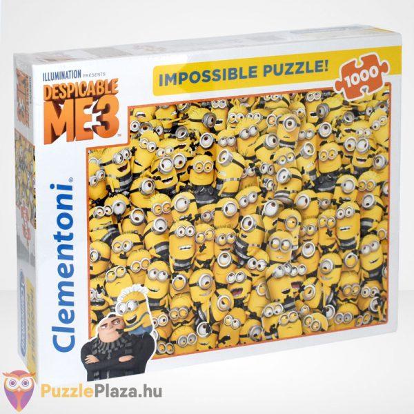 A lehetetlen puzzle - Minyonok, Gru 3 (Clementoni 1000 db-os kirakó)