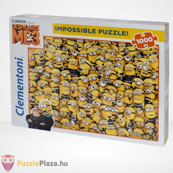 A lehetetlen puzzle - Minyonok, Gru 3 (Clementoni 1000 db-os kirakó), balról