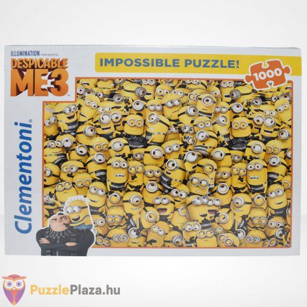 A lehetetlen puzzle - Minyonok, Gru 3 (Clementoni 1000 db-os kirakó), szemből