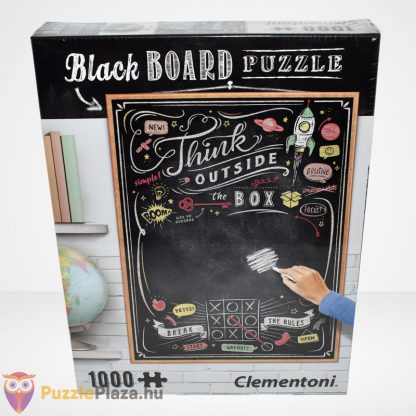 Clementoni - Black Board Puzzle - Think outside the box (1000 db)