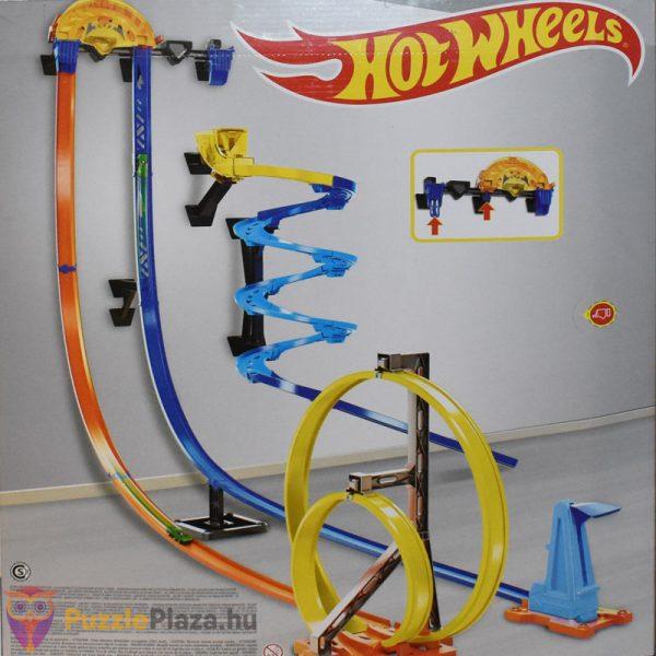 Hot Wheels függőleges szuperpálya indítókészlet, pályaminta