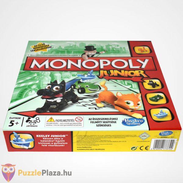 Monopoly Junior társasjáték - Az első Monopoly társasjátékom elölről