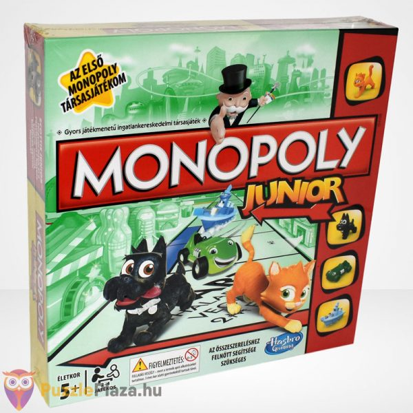 Monopoly Junior társasjáték - Az első Monopoly társasjátékom jobbról