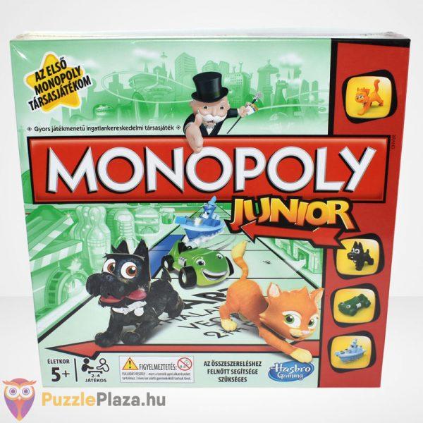 Monopoly Junior társasjáték - Az első Monopoly társasjátékom szemből