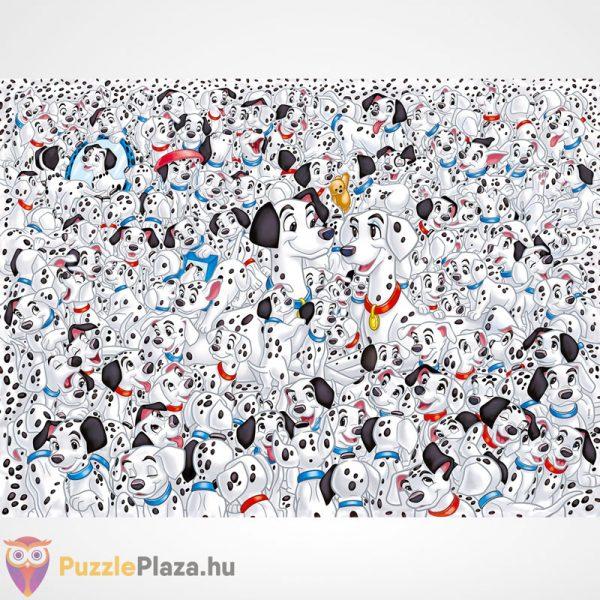 A lehetetlen puzzle - 101 kiskutya (Clementoni 1000 db-os kirakó), a kép
