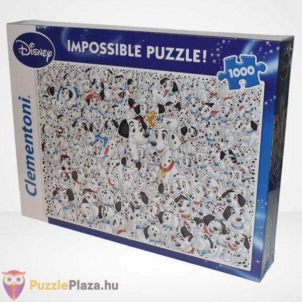 A lehetetlen puzzle - 101 kiskutya (Clementoni 1000 db-os kirakó), balról