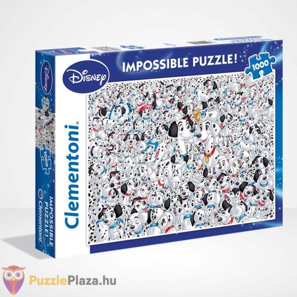 A lehetetlen puzzle - 101 kiskutya (Clementoni 1000 db-os kirakó), jobbról