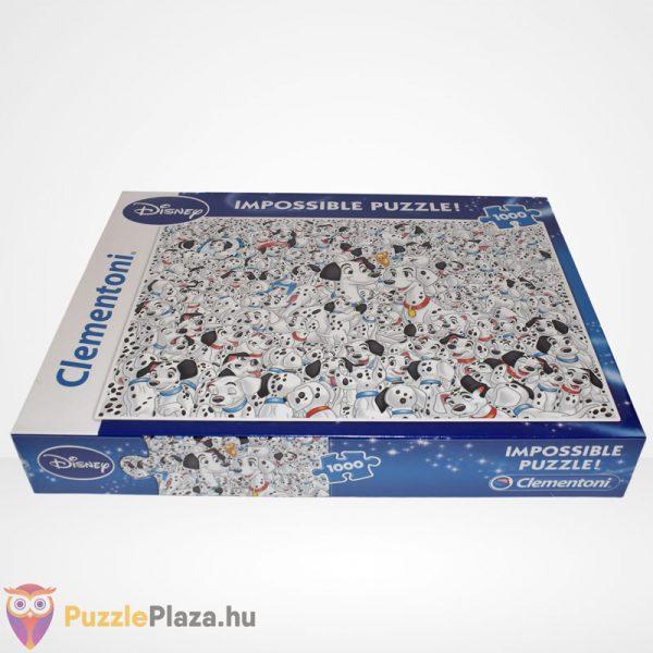 A lehetetlen puzzle - 101 kiskutya (Clementoni 1000 db-os kirakó), oldalról