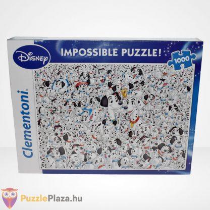 A lehetetlen puzzle - 101 kiskutya (Clementoni 1000 db-os kirakó), szemből