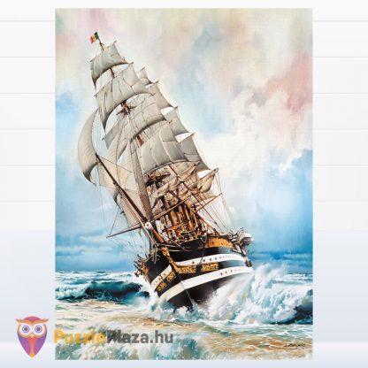 1000 darabos Amerigo Vespucci Hajó Puzzle kirakott képe a Clementonitól
