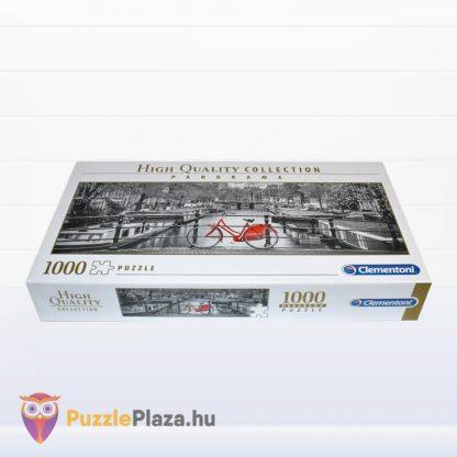 Amszterdam panoráma puzzle 1000 darabos a Clementonitól fektetve