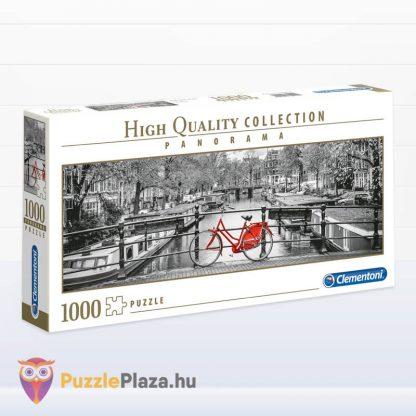 Amszterdam panoráma puzzle 1000 darabos a Clementonitól jobbra