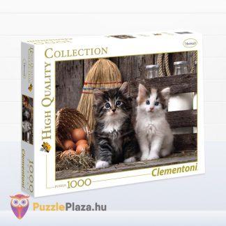 Aranyos Kiscicák Puzzle 1000 db-os. Clementoni 39340 - jobbra néző doboz