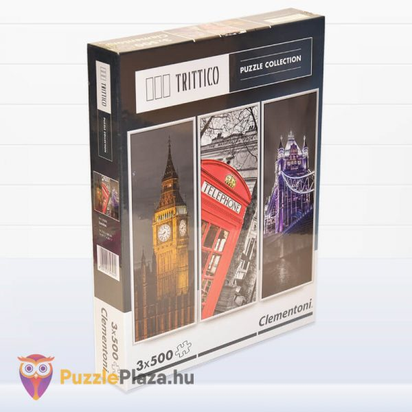 London Puzzle - Trittico Collection kirakó a Clementonitól jobbról - 39306