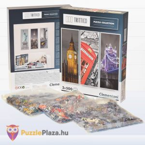 London Puzzle - Trittico Collection kirakó a Clementonitól kibontva - 39306