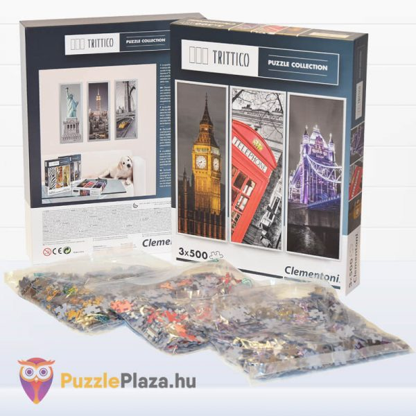 London Puzzle - Trittico Collection kirakó a Clementonitól kibontva - 39306
