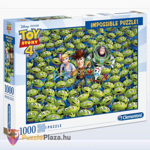1000 darabos Toy Story 4 Lehetetlen Puzzle. Clementoni 39499