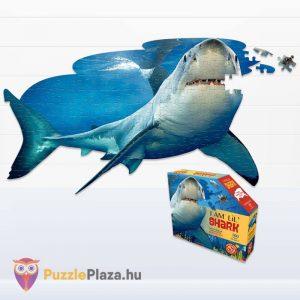 100 db-os Cápa Forma Puzzle Junior - Wow Toys kirakott puzzle és doboz