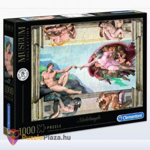 Ádám Teremtése - Michelangelo Puzzle 1000 db - Museum Collection - Clementoni 39496