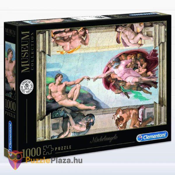 Ádám Teremtése - Michelangelo Puzzle 1000 db - Museum Collection - Clementoni 39496