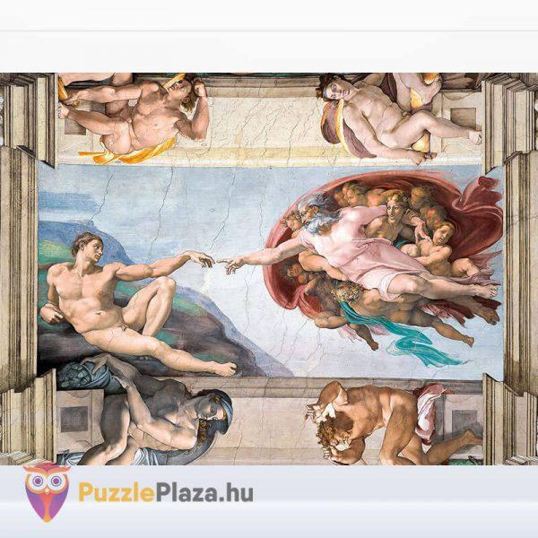 Ádám Teremtése - Michelangelo Puzzle 1000 db - Museum Collection - Clementoni 39496 kirakott kép