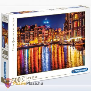 500 darabos Amsterdam Puzzle, Clementoni 35037