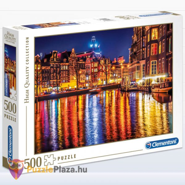 500 darabos Amsterdam Puzzle, Clementoni 35037