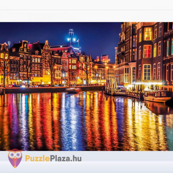 500 darabos Amsterdam Puzzle, Clementoni 35037 kirakott kép