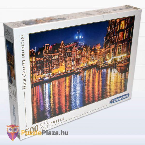 500 darabos Amsterdam Puzzle, Clementoni 35037 jobbról