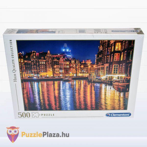 500 darabos Amsterdam Puzzle, Clementoni 35037 előről