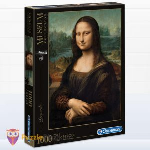 1000 db Da Vinci - Mona Lisa Puzzle - Museum Collection - Clementoni 31413