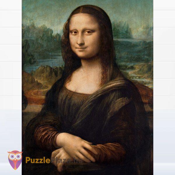 1000 db Da Vinci - Mona Lisa Puzzle - Museum Collection - Clementoni 31413 kirakott kép