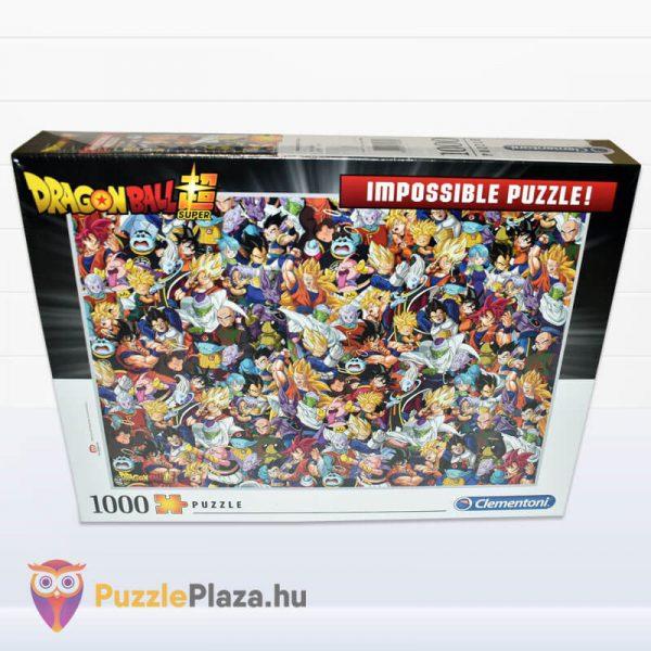 1000 darabos Dragon Ball Lehetetlen Puzzle, Clementoni 39489 előről