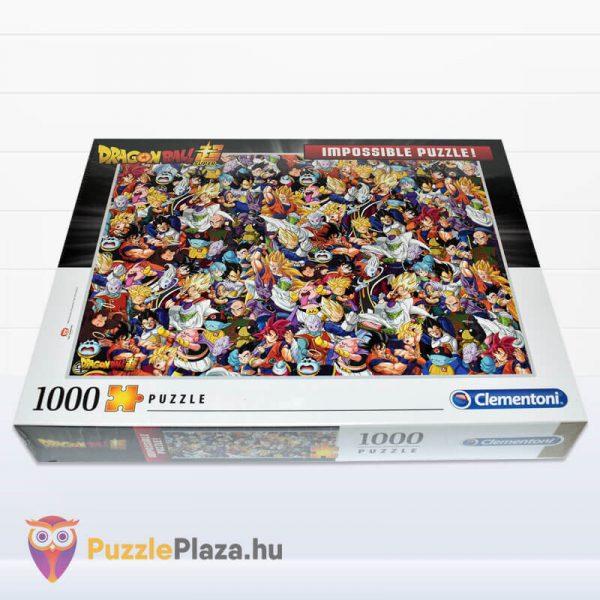 1000 darabos Dragon Ball Lehetetlen Puzzle, Clementoni 39489 fektetve
