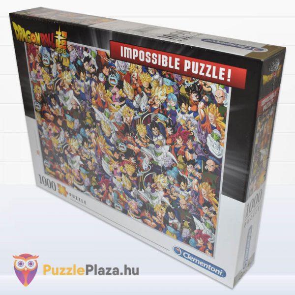 1000 darabos Dragon Ball Lehetetlen Puzzle, Clementoni 39489 oldalról
