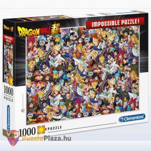 1000 darabos Dragon Ball Lehetetlen Puzzle, Clementoni 39489