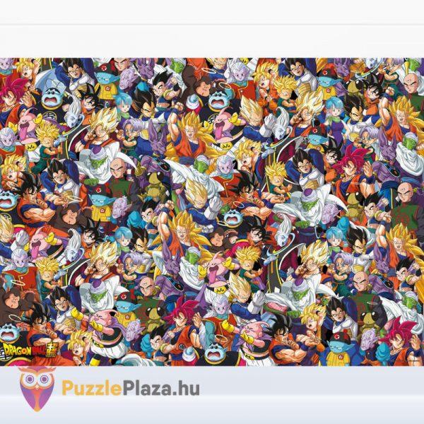 1000 darabos Dragon Ball Lehetetlen Puzzle, Clementoni 39489 kirakott kép