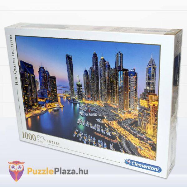 1000 darabos Dubai Puzzle éjszaka. Clementoni 39381 jobbról