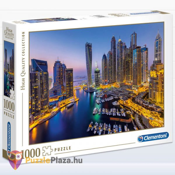 1000 darabos Dubai Puzzle éjszaka. Clementoni 39381