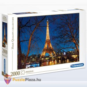 2000 darabos Eiffel torony Puzzle (Párizsban). Clementoni 32554 High Quality Collection