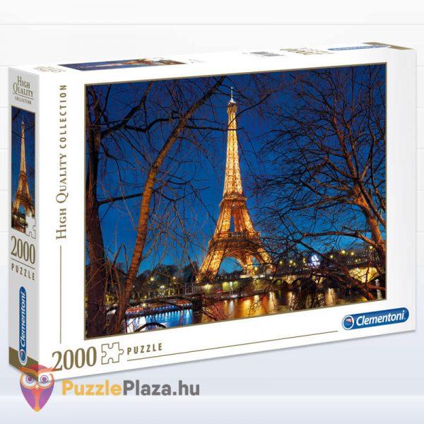2000 darabos Eiffel torony Puzzle (Párizsban). Clementoni 32554 High Quality Collection