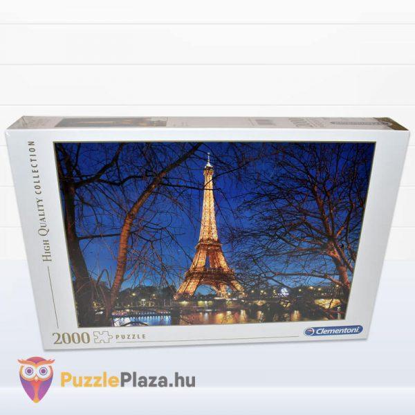 2000 darabos Eiffel torony Puzzle (Párizsban). Clementoni 32554 High Quality Collection előről