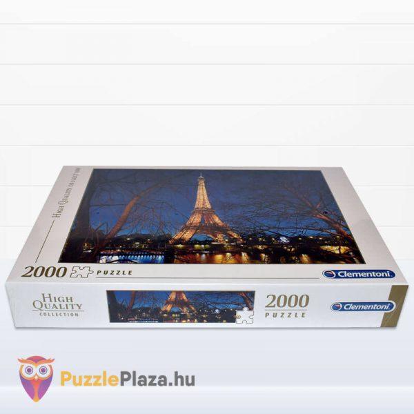 2000 darabos Eiffel torony Puzzle (Párizsban). Clementoni 32554 High Quality Collection Fektetve