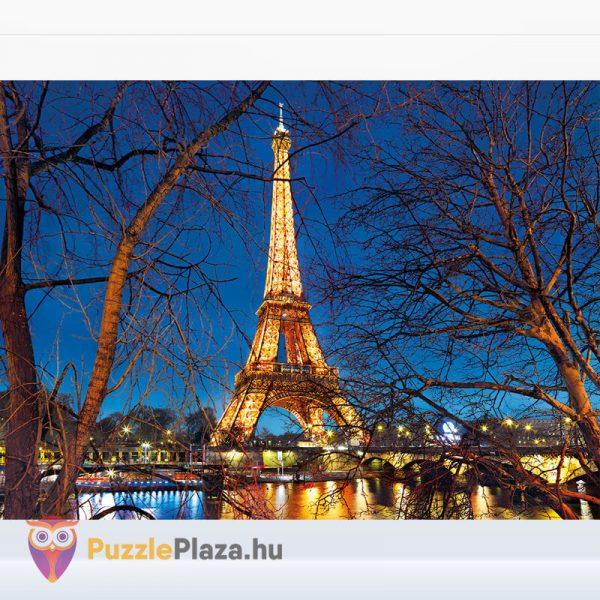 2000 darabos Eiffel torony Puzzle (Párizsban). Clementoni 32554 High Quality Collection kirakott kép
