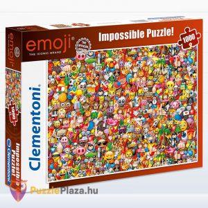 1000 darabos Emoji Lehetetlen Puzzle. Clementoni 39388