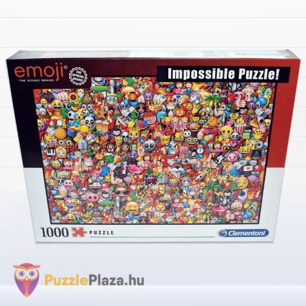 1000 darabos Emoji Lehetetlen Puzzle. Clementoni 39388 előről