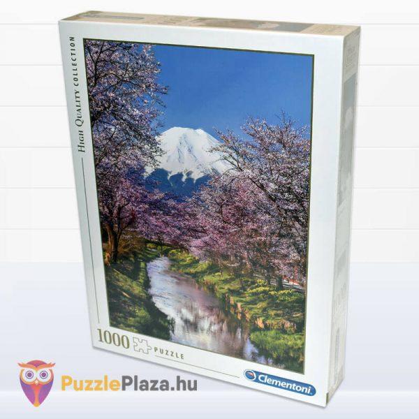 Fuji hegy puzzle - Clementoni 39418 balról