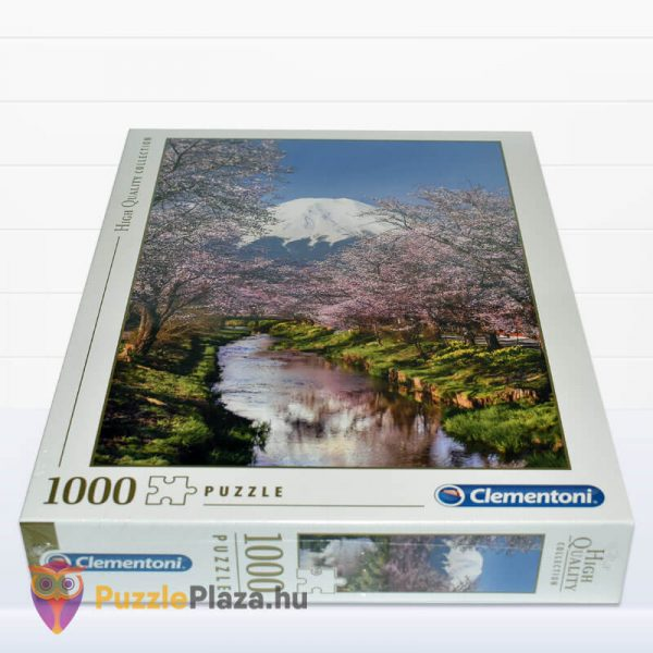 Fuji hegy puzzle - Clementoni 39418 fektetve