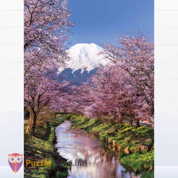 Fuji hegy puzzle - Clementoni 39418 kirakott kép