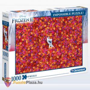 Disney Jégvarázs 2 - A Lehetetlen Puzzle, 1000 darabos - Clementoni 39526